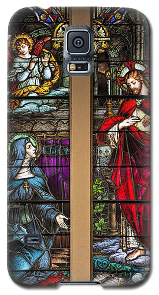 St. Margaret Mary Alacoque And Sacred Heart Of Jesus Galaxy S5 Case