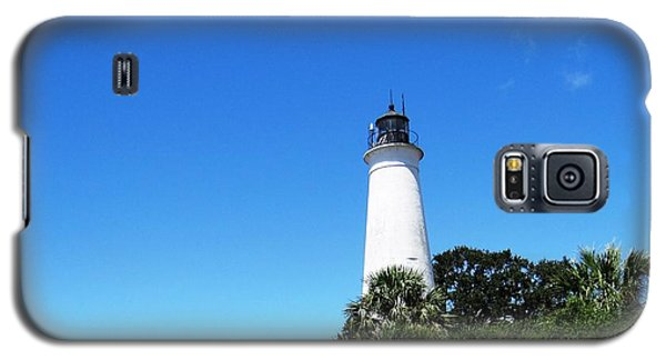 St. Marks Lighthouse High Noon Galaxy S5 Case by Ecinja