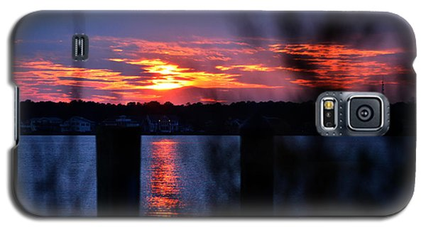 Galaxy S5 Case featuring the photograph St. Marten River Sunset by Bill Swartwout