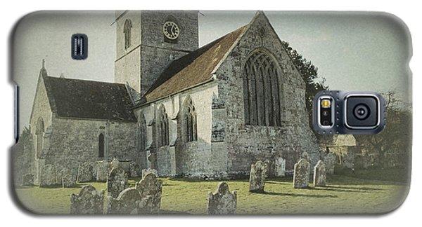 St Marys Church Dinton And Churchyard Galaxy S5 Case