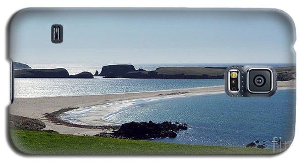 St Ninian's Isle Shetland Galaxy S5 Case by Lynn Bolt