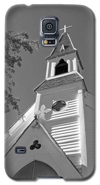 St. Paul's Church Port Townsend In B W Galaxy S5 Case