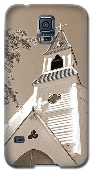 St. Paul's Church Port Townsend In Sepia Galaxy S5 Case
