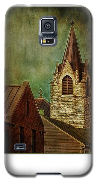 St Peter's By Night Greeting Card Galaxy S5 Case