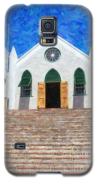 Galaxy S5 Case featuring the photograph St. Peter's Church  by Verena Matthew