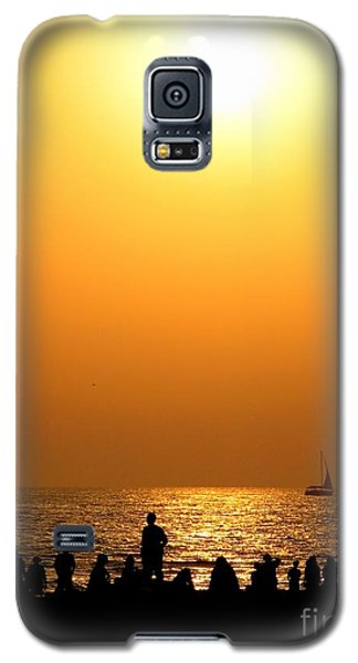 St. Petersburg Sunset Galaxy S5 Case by Peggy Hughes