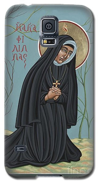 Galaxy S5 Case featuring the painting St. Philippine Duchesne 259 by William Hart McNichols