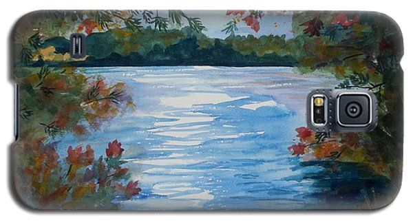 St. Regis Lake Galaxy S5 Case by Ellen Levinson