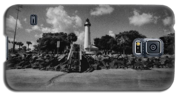 St Simmon's Lighthouse 2 Galaxy S5 Case by J Riley Johnson