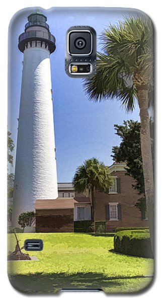 St. Simmons Lighthouse Galaxy S5 Case by Linda Blair