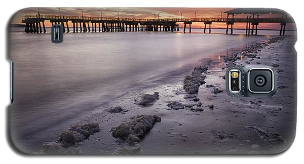 St. Simons Pier At Sunset Galaxy S5 Case