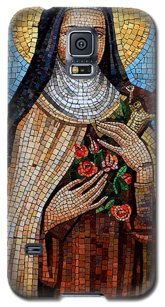 St. Theresa Mosaic Galaxy S5 Case by Andrew Fare
