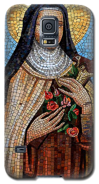 St. Theresa Mosaic Galaxy S5 Case