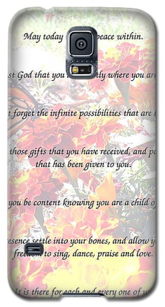 St Theresa's Prayer Galaxy S5 Case