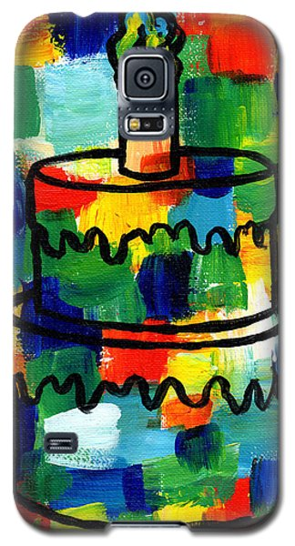 Stl250 Birthday Cake Abstract Galaxy S5 Case