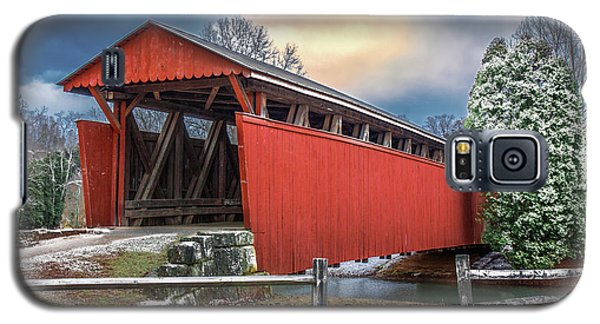 Staats Mill Covered Bridge Galaxy S5 Case