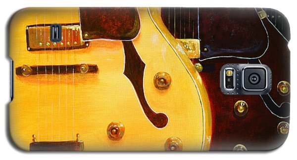 Stacked Guitars Galaxy S5 Case by Chris Fraser