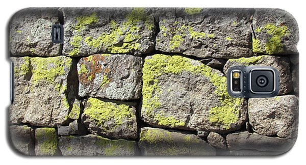 Stacked Stone Wall Galaxy S5 Case by Bonnie Muir
