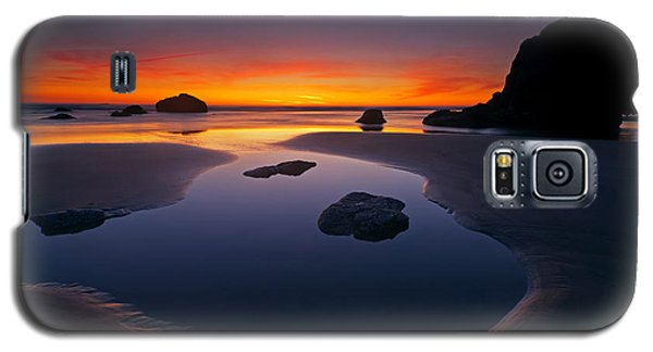 Galaxy S5 Case featuring the photograph Stacks And Stones by Mike  Dawson