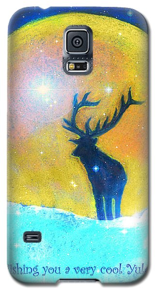Stag Of Winter Galaxy S5 Case