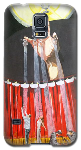 Galaxy S5 Case featuring the painting Stage Of Life   by Lazaro Hurtado
