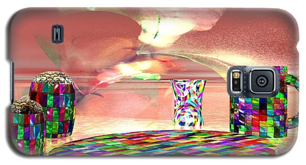 Stained Dinnerware Galaxy S5 Case by Jacqueline Lloyd