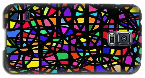 Stained Glass Abstract Galaxy S5 Case