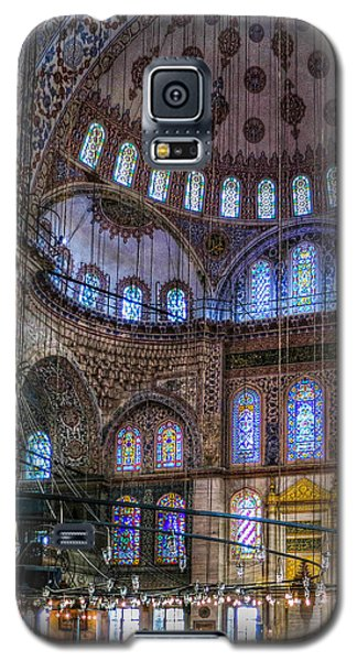 Stained Glass And Dome Of The Sultanahmet Mosque Galaxy S5 Case