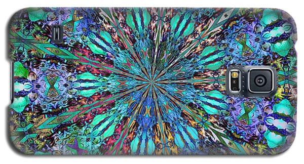 Galaxy S5 Case featuring the photograph Stained Glass by Geraldine DeBoer