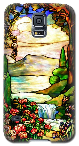 Stained Glass Galaxy S5 Case by Kristin Elmquist