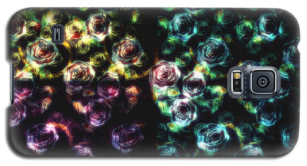 Stained Glass Roses Galaxy S5 Case