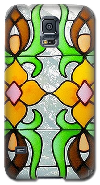 Galaxy S5 Case featuring the photograph Stained Glass Window by Janette Boyd