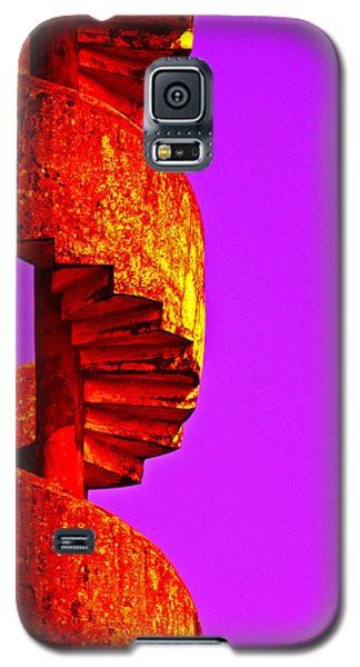 Galaxy S5 Case featuring the photograph Staircase Abstract by Dennis Cox WorldViews
