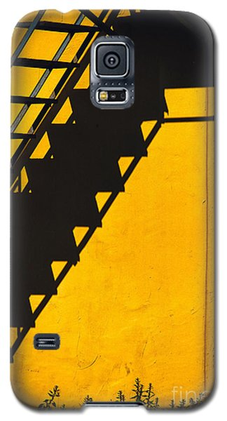 Galaxy S5 Case featuring the photograph Staircase Shadow by Silvia Ganora