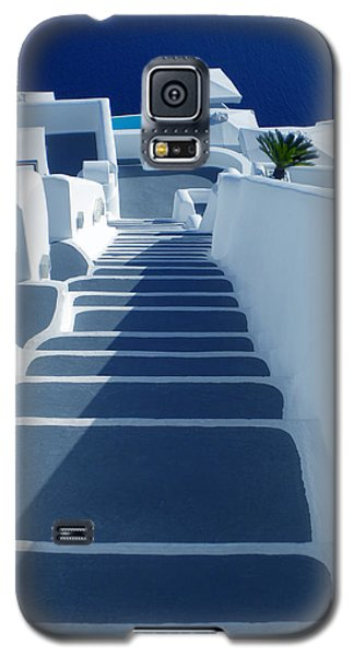 Stairs Down To Ocean Santorini Galaxy S5 Case