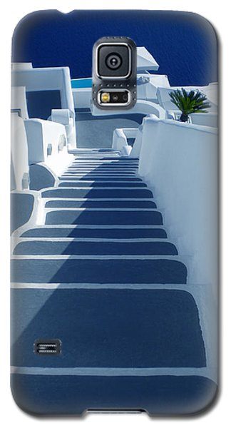 Stairs Down To Ocean Santorini Galaxy S5 Case by Colette V Hera  Guggenheim