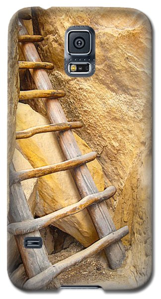 Galaxy S5 Case featuring the photograph Stairs From The Canyon by Ross Henton
