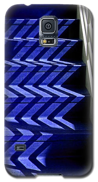 Stairs Of Blue Galaxy S5 Case by Christopher McKenzie