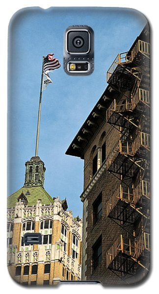 Galaxy S5 Case featuring the photograph Stairs To The Top by Andy Crawford