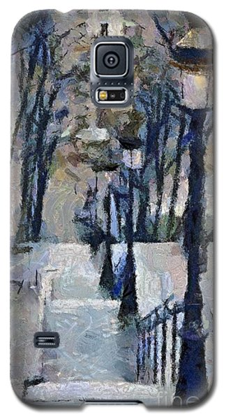 Stairs With Lamps Galaxy S5 Case