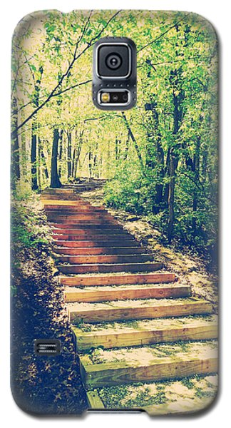 Stairway Into The Forest Galaxy S5 Case by Phil Perkins