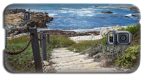 Stairway To Asilomar State Beach Galaxy S5 Case