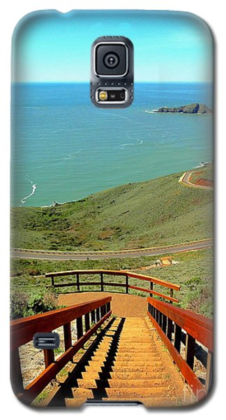 Galaxy S5 Case featuring the photograph Stairway To Heaven by Sarah Mullin
