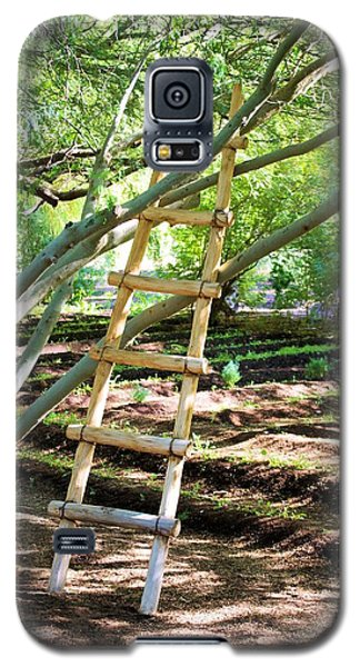 Galaxy S5 Case featuring the photograph Stairway To Nowhere by David Rizzo