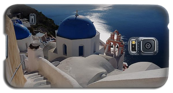 Stairway To The Blue Domed Church Galaxy S5 Case