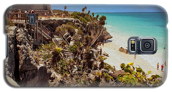 Stairway To The Tulum Beach  Galaxy S5 Case
