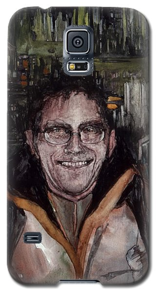 Galaxy S5 Case featuring the painting Stalker by Mikhail Savchenko