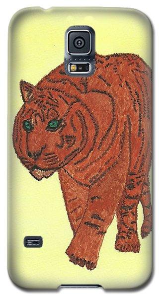 Stalking Tiger Galaxy S5 Case