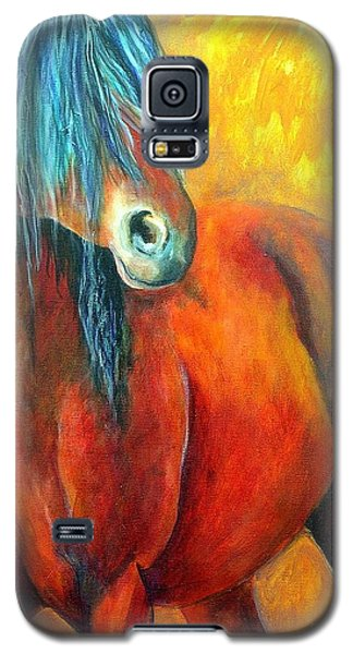 Stallions Concerto  Galaxy S5 Case by Alison Caltrider
