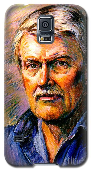 Stan Esson Self Portrait Galaxy S5 Case by Stan Esson